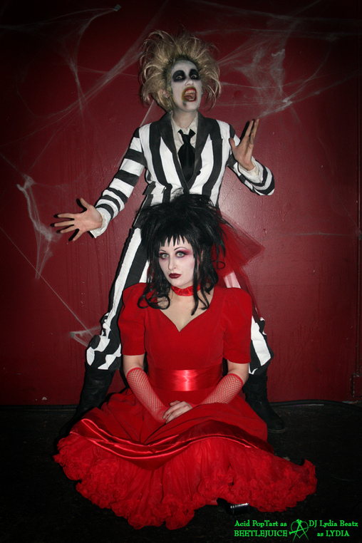 Beetlejuice & Lydia - Homemade costumes for women