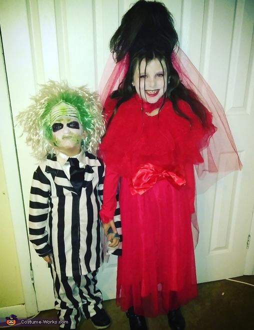 Kids Beetlejuice Lydia Costumes