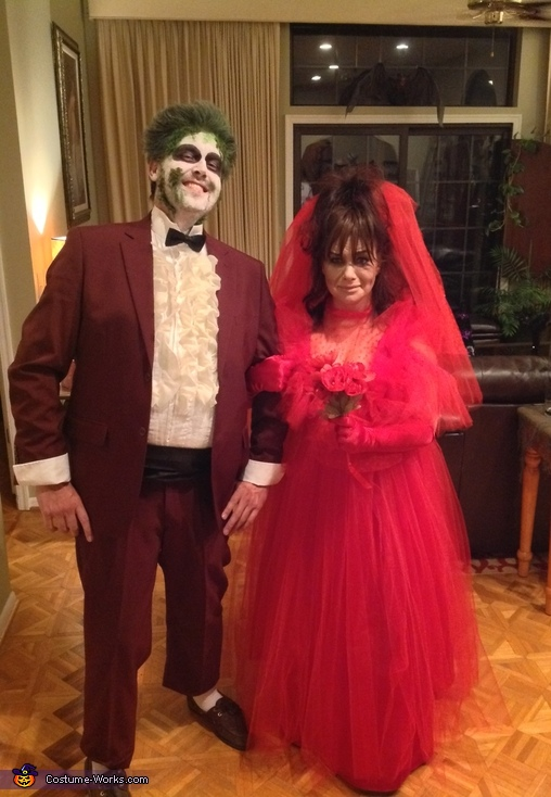 Beetlejuice Lydia Couple Costume How To Tutorial