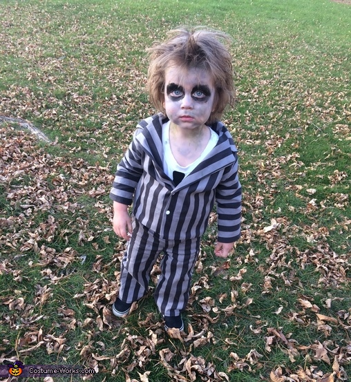 Beetlejuice Toddler Costume