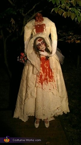 beheaded bride, Beheaded Bride Costume