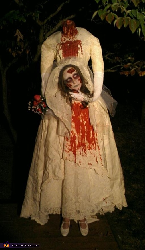 Beheaded Bride Costume
