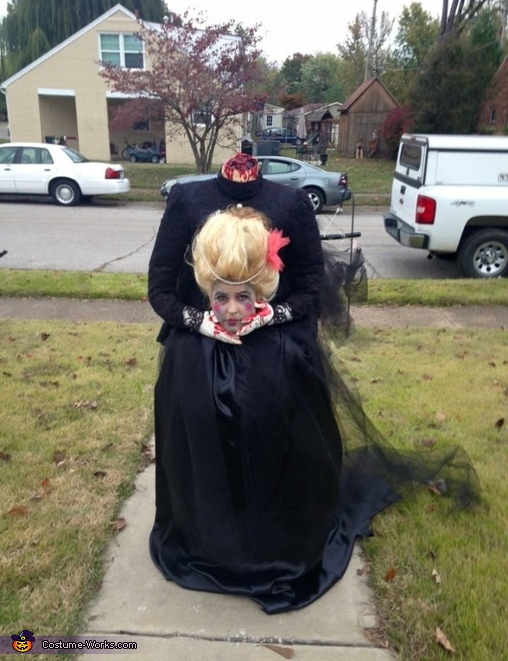 Beheaded Marie Antoinette Costume
