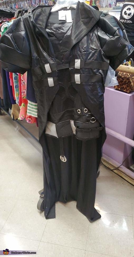 Thrifted costume (Overwatch Reaper - $10), Beldar Conehead Costume
