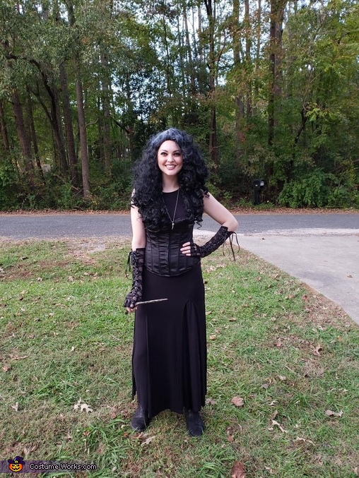 Bellatrix Lestrange Homemade Costume