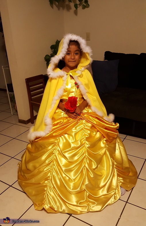 Girl's Belle Costume