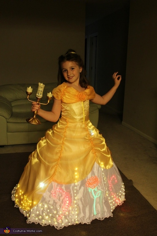 Belle Ready for a parade!, Belle and Prince Adam Costume