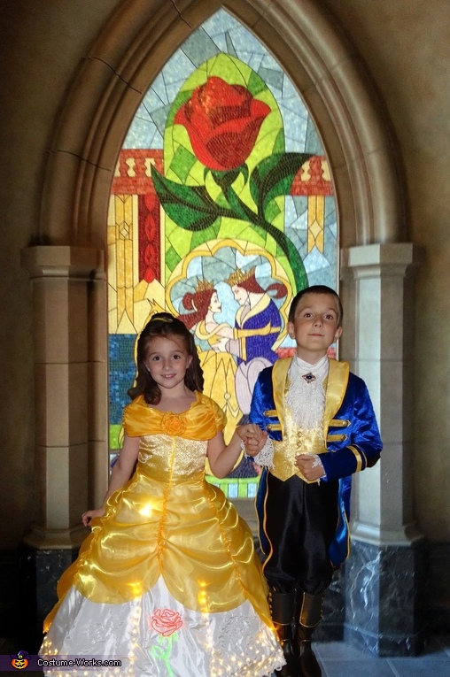 Belle and Prince Adam, Belle and Prince Adam Costume