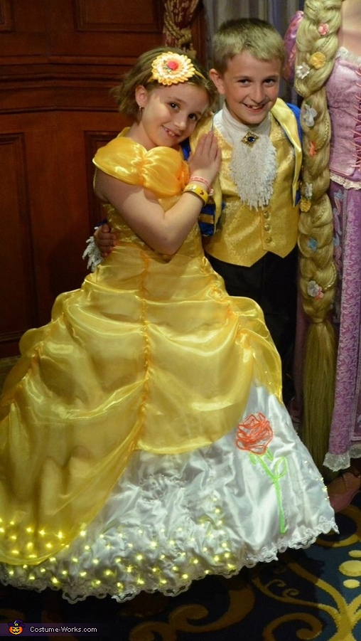 Belle and Prince Adam Costume