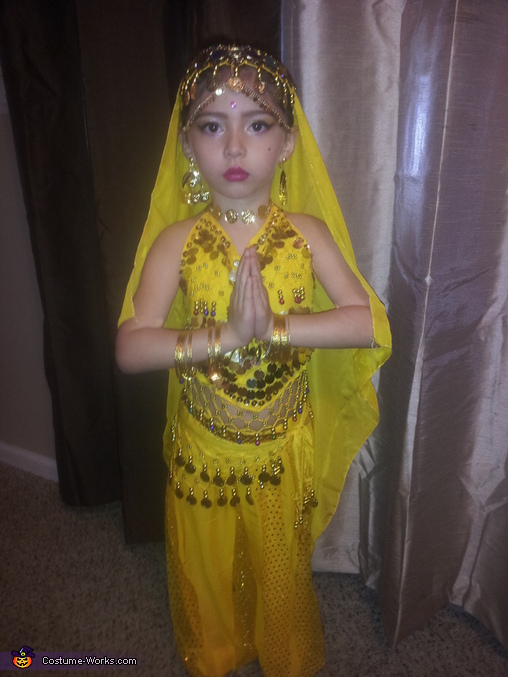 Belly Dancer Girl's Halloween Costume