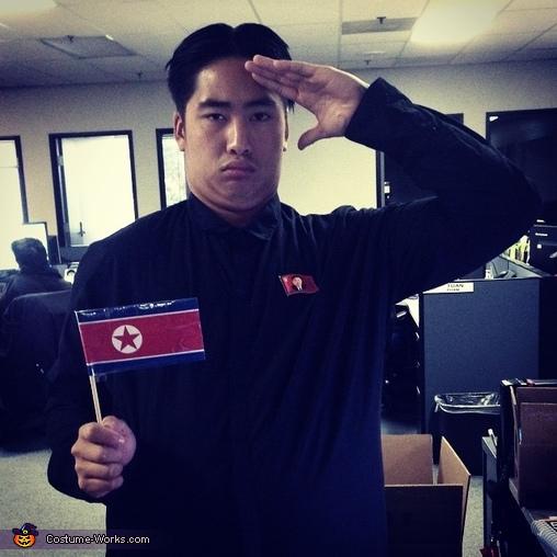 Beloved North Korean Leader Kim Jong Un Costume