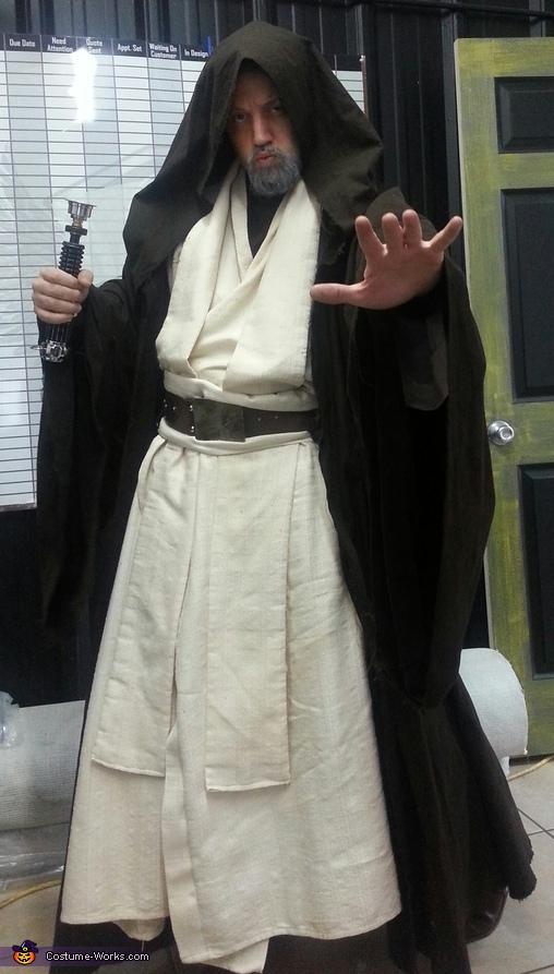 ben obi wan kenobi homemade costume