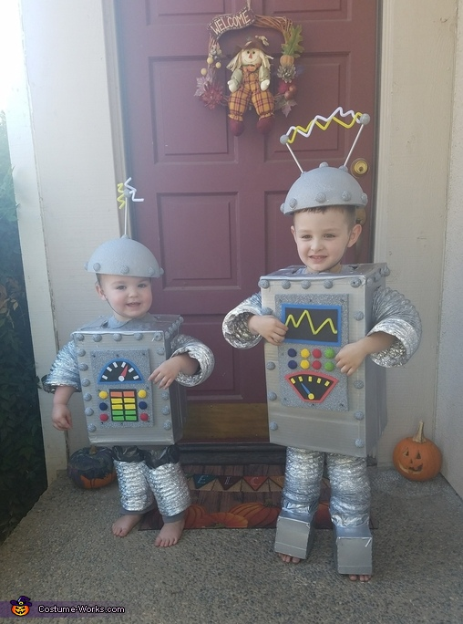 BenBot & PhilBot Costume