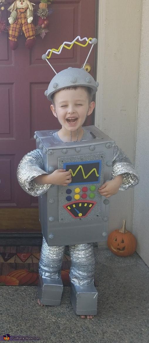 BenBot & PhilBot Homemade Costume