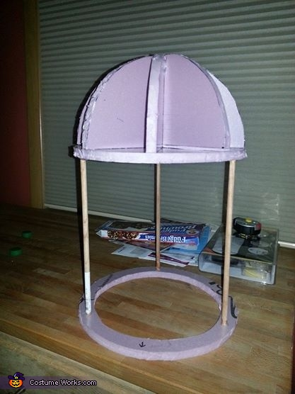 Head dome build, Futurama Bender Costume