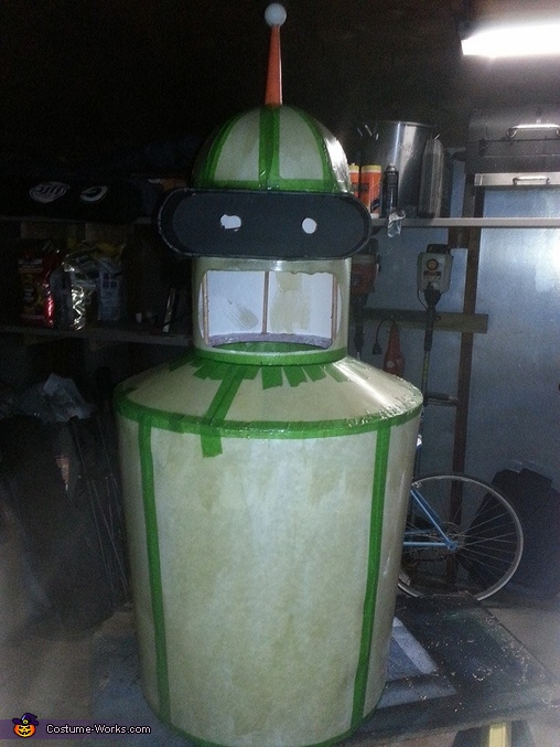 Resin Complete, Futurama Bender Costume