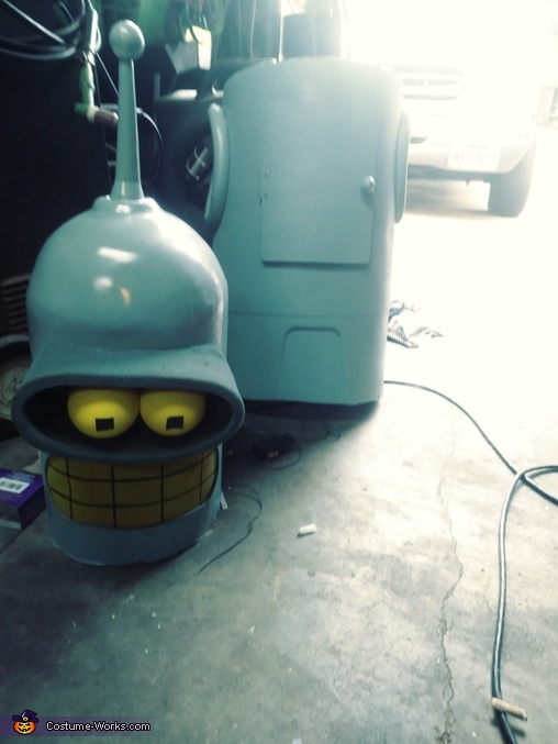 Bender from Futurama Homemade Costume