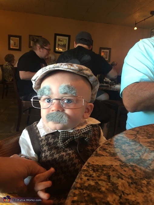 Benjamin Button Homemade Costume