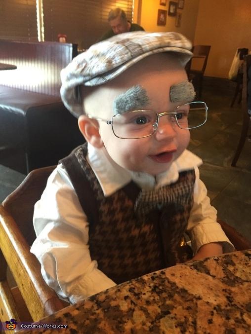 Benjamin Button Homemade Costume