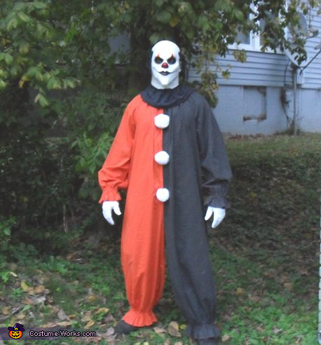 Homemade Killer Clown Costume