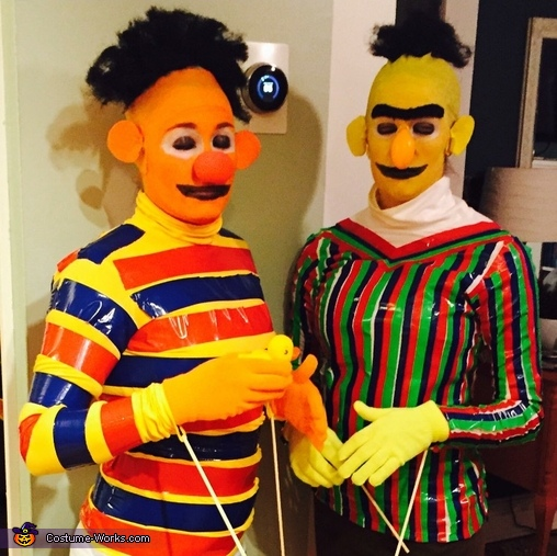 Sesame Street Bert and Ernie Costume