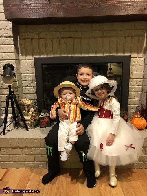 Bert from Mary Poppins Homemade Costume