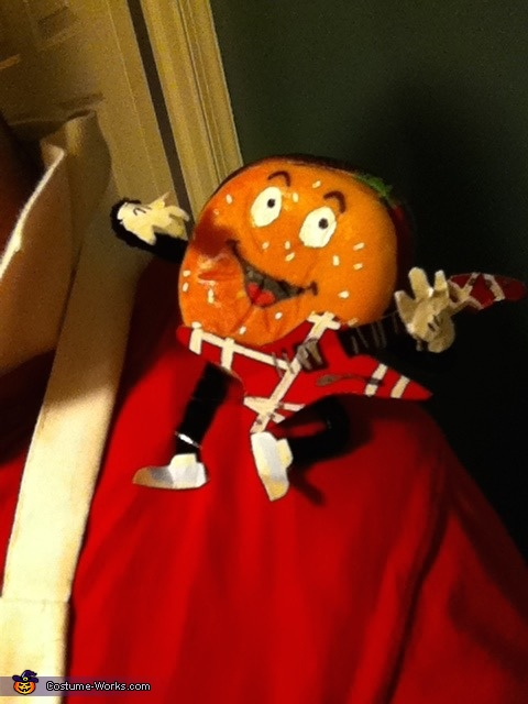 The burger-man, Better off Dead Costume