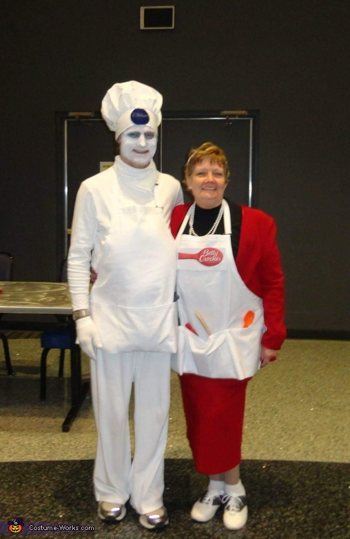 Betty Crocker and The Pillsbury Dough Boy Costume