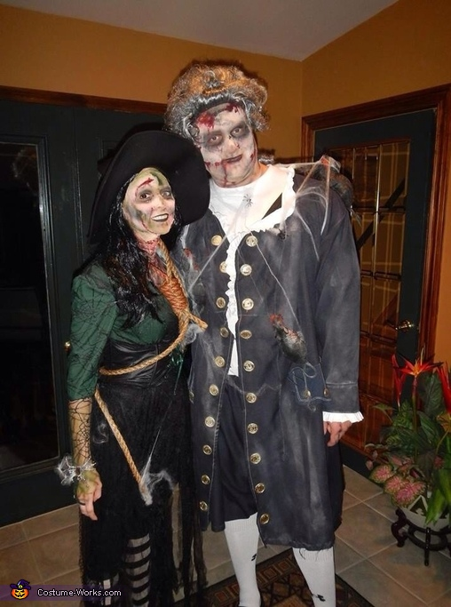 Bewitched Couple Costume