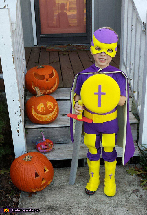Shield of Faith- re-purposed Frisbee, Bibleman Costume