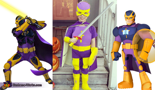 Side by Side Character/Costume, Bibleman Costume