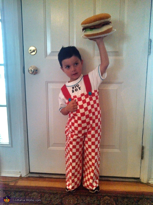 Big Boy costume, Big Boy from Big Boy Restaurants Costume