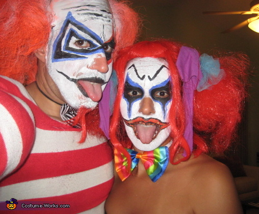 Big Berzerk and Lil' Bitty Clown Costume
