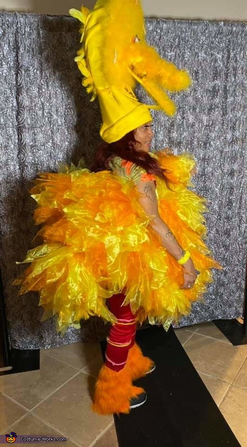 Big Bird Homemade Costume