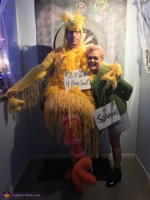 Big Bird & Oscar the Grouch Costume
