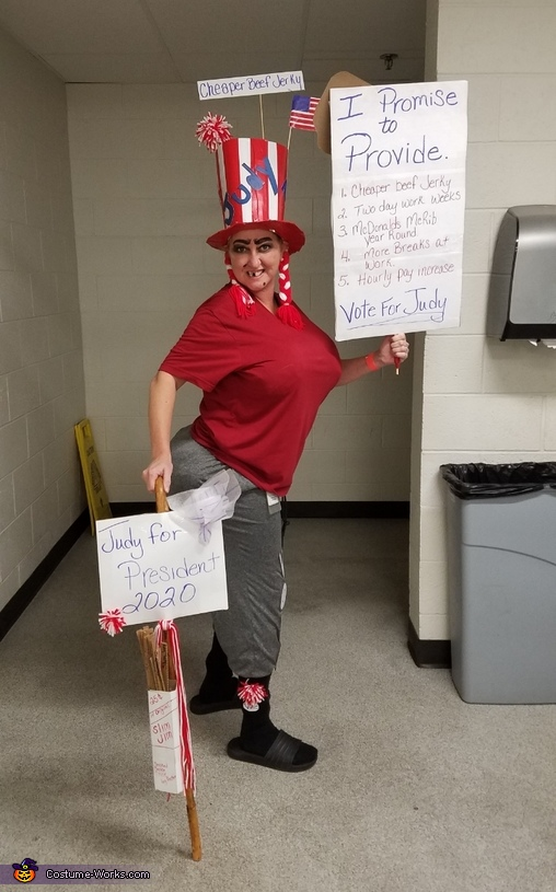 Big Booty Judy for President Costume