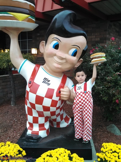 Big Boy from Big Boy Restaurants Costume