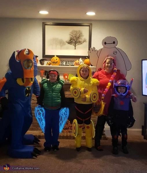 Big Hero 6 Family Costume