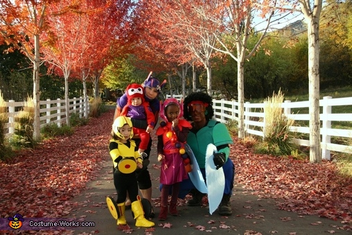 Big Hero 6 Family Costumes, Big Hero 6 Family Costume