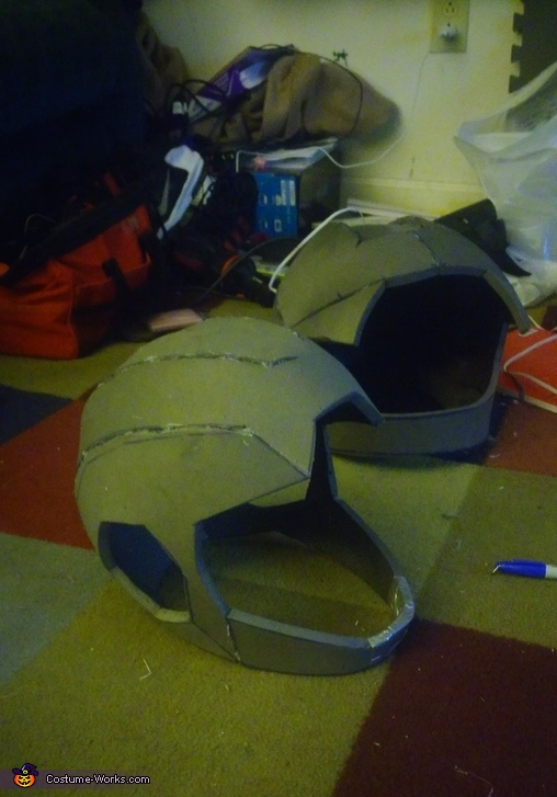helmet re-designed, Hiro Hamada from Big Hero 6 Costume