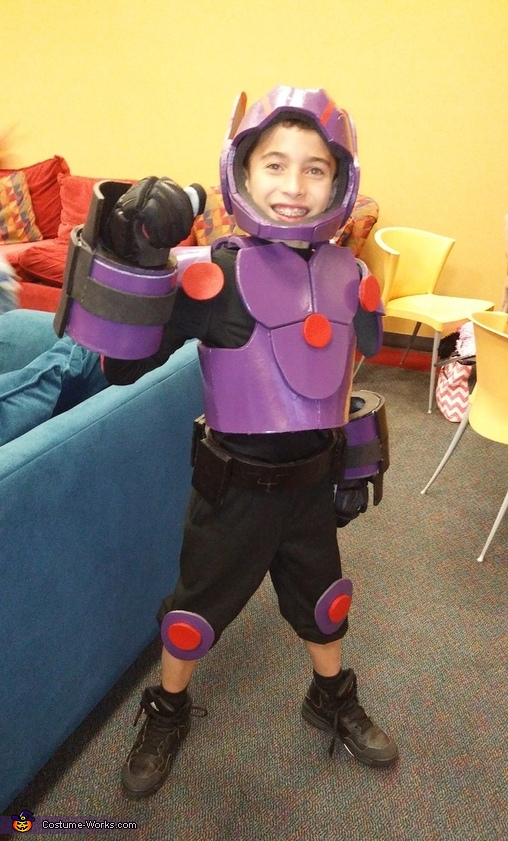 Thanks and good luck on your builds, Hiro Hamada from Big Hero 6 Costume