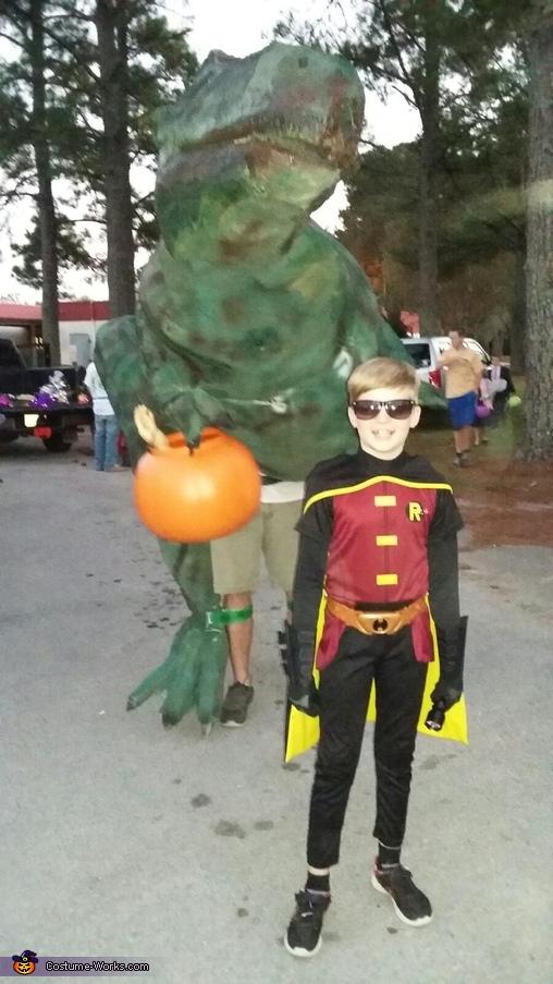 Big Juvenile T-Rex Costume