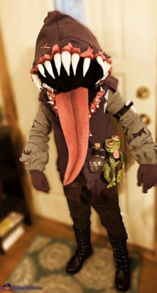 Big Mouth Homemade Costume