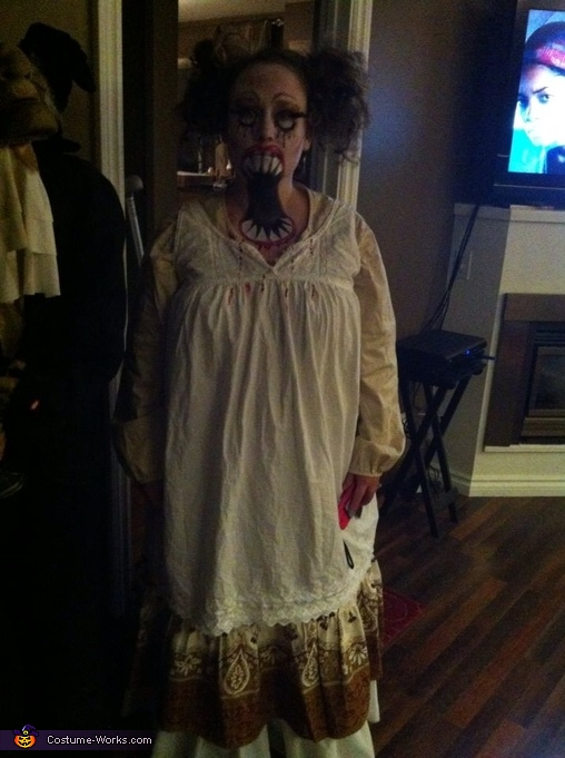 big mouth eerie doll, Big Mouth Doll Costume