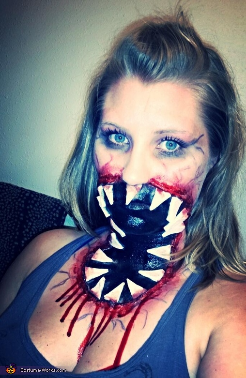 Big Mouth Zombie Costume