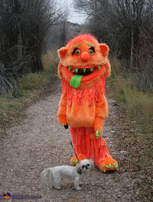 Big Orange Blah Homemade Costume