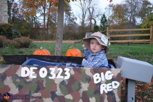 Big Red Fisherman Costume