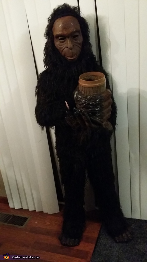 Bigfoot Homemade Costume