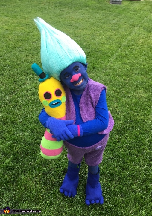 Biggie from Trolls Costume