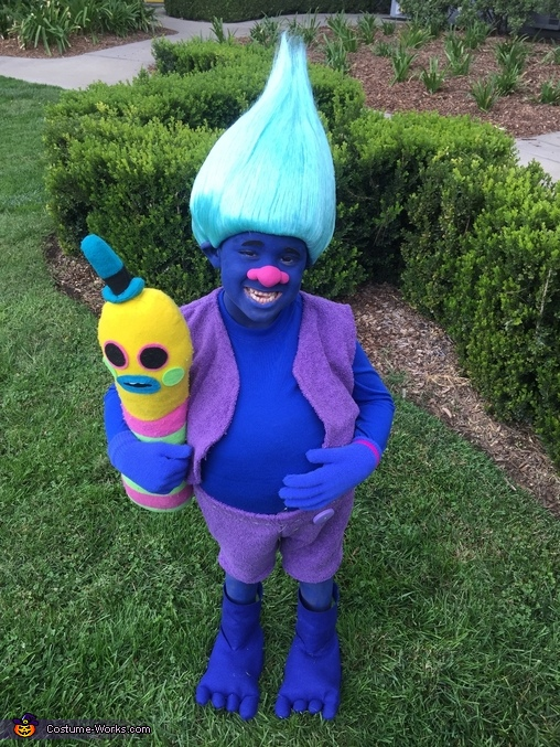 I love my fluffy belly, Biggie from Trolls Costume